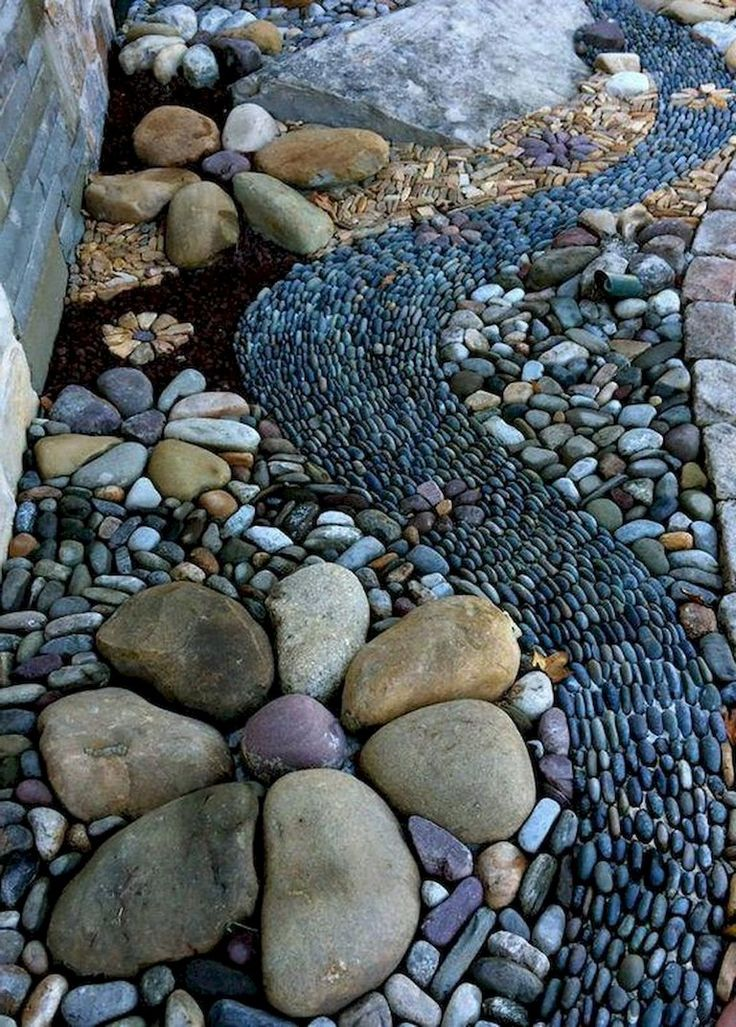 75+ Beautiful Front Yard Rock Garden Landscaping Ideas – Heike Schwan