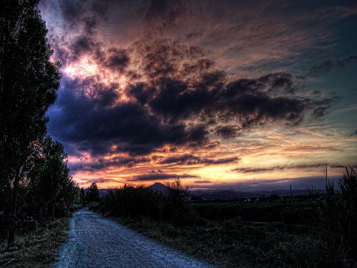 Sunset Walk by Alejandro Sans on 500px