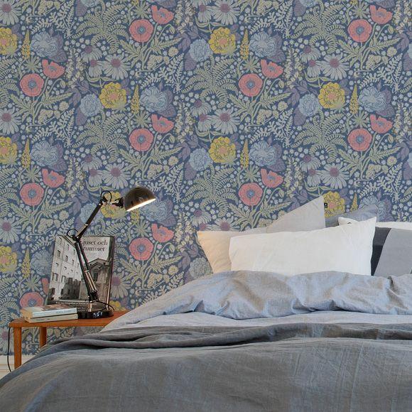 Bedroom |Wallpaper Lisa | Sandberg Wallpaper