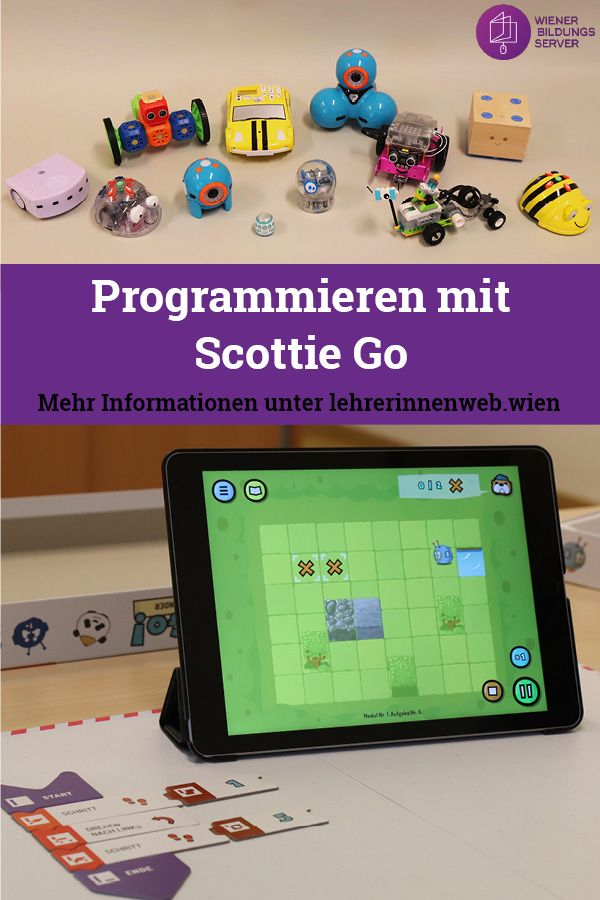 Programmieren Mit Scottie Go Brettspiel Trifft Tablet