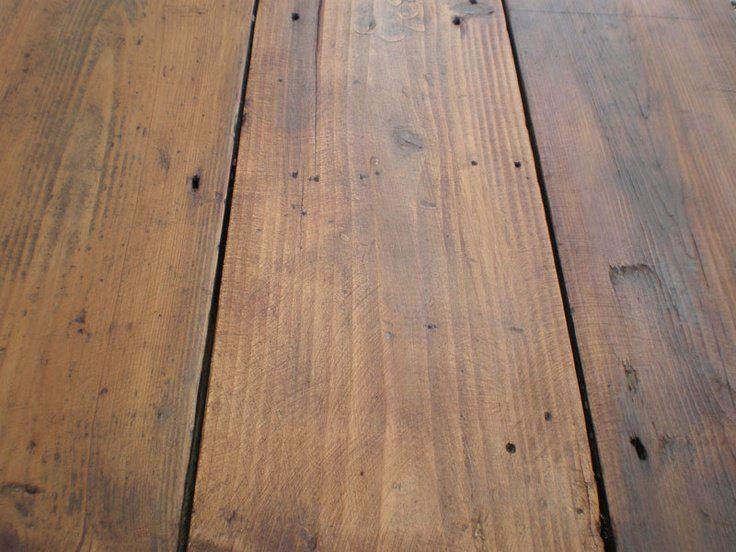wax pine floor – love the matte finish – @Jordan Bromley {Picklee.com} too dark