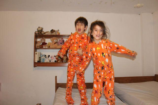 Mi espacio creativo: Pijamas de invierno o My little monkeys jumping on...