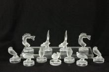 Lalique Place Card Holders