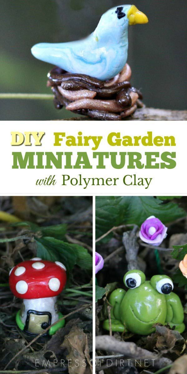 Fairy Garden Accessories Here Are Several Items That You Can Easily Make For Your Gardens Tees Whimsical Trees And Snails
