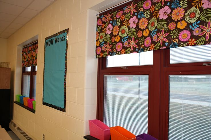 Creative Classroom Design Ideas ~ Easy classroom curtains pinterest