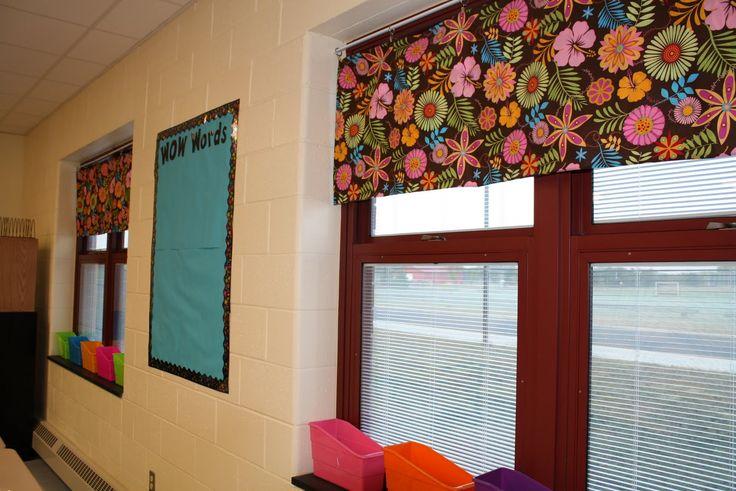 Classroom Design Layout Ideas ~ Easy classroom curtains pinterest