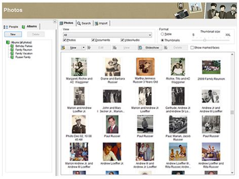 Ideal Family Tree Builder Free genealogy program MyHeritage Kostenlose