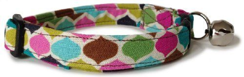 Breakaway Cat Collar in Multicolor Tear Drops Handmade in the USA ** You can find out more details at the link of the image.