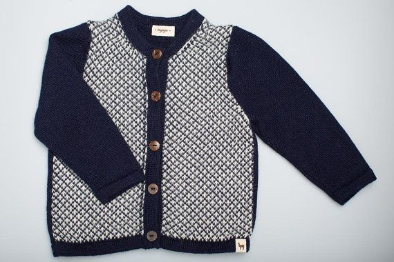 navy sweater / baby alpaca sweater dark blue cardigan baby boy sweater children sweater kids sweater knitted kids cardigan baby cardigan