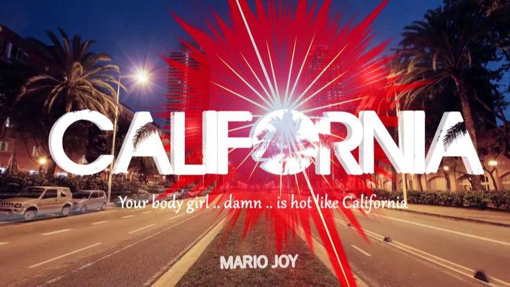 Mario Joy - California (Lyric video)