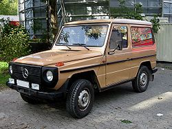 Mercedes-Benz G-Klasse (W 460, 1979–1990)