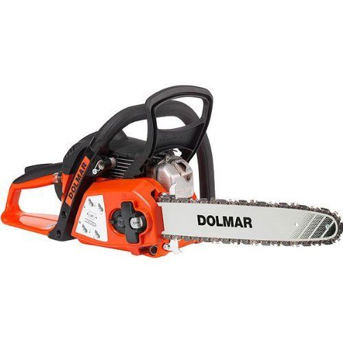 With the Dolmar By Makita PS32CTLC-35cm 32cc Petrol Chainsaw you have the freedom to cut your logs anywhere you need, due to the fact that it's petrol driven you are not dependent on an electricity supply like the electric counterparts.
