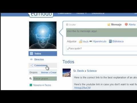 Edmodo Tutorial en Español - YouTube