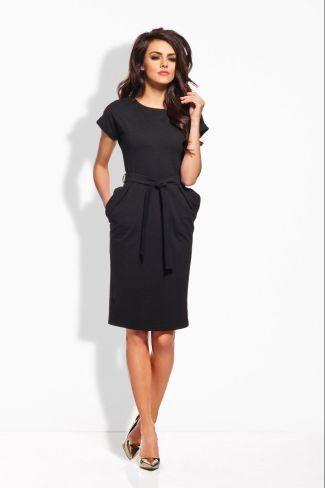 Μίνι φόρεμα L129 - Μαύρο