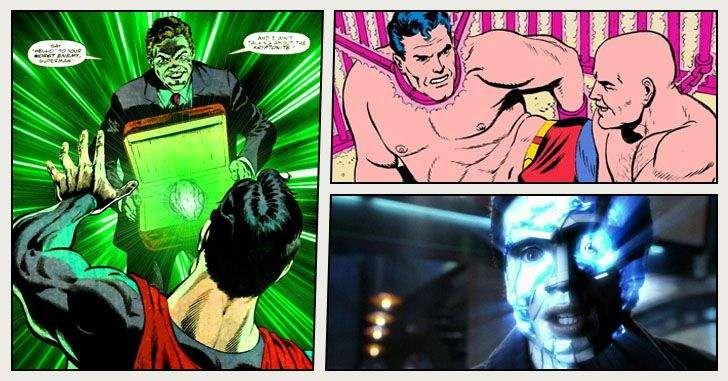 Muitas pessoas que não acompanham os quadrinhos do Supermanpodem achar que só existe um único tipo de kriptonita, aquela que vai fazer o Homem de Açoficar fraco. Mas existem muitos outros tipos do mineral kriptonianos, com efeitos bem diversos. Vamos listar aqui as 10 variações diferentes de kriptonita com seus respectivos efeitos. Dica do fã_yuthar