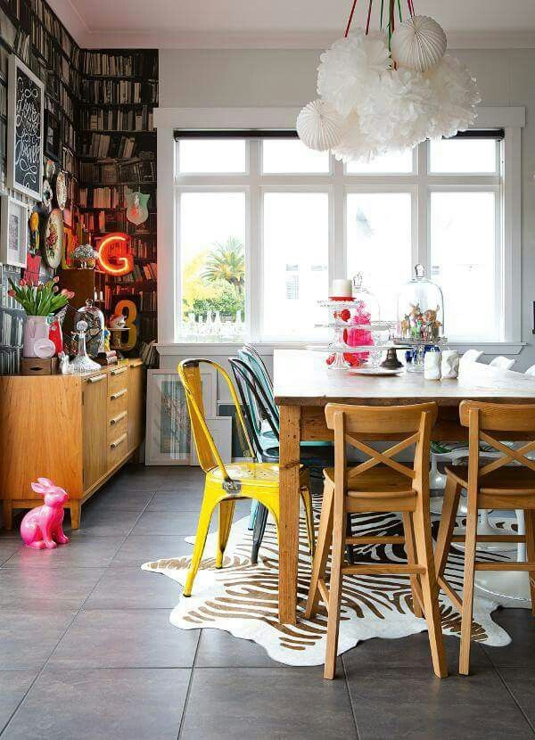 Check Out 23 Lovely Eclectic Dining Room Designs