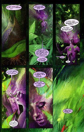 Black Orchid n°3 (1989). Writer: Neil Gaiman. Illustrator: Dave McKean