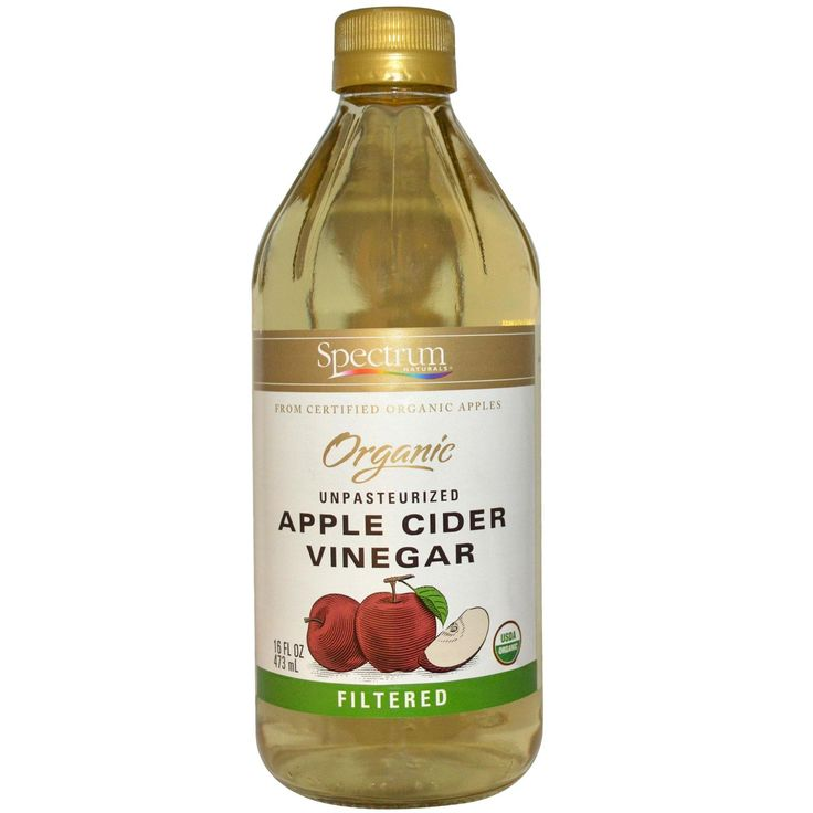 Spectrum Naturals, Organic Apple Cider Vinegar, Unpasteurized, Filtered, 16 fl oz (473 ml) - iHerb.com