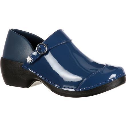 Rocky 4EurSole Inspire Me Women's Patent Leather Clog - 4EurSole.com