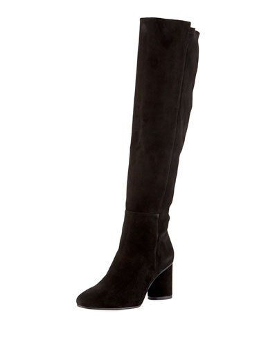 8aa0e9d7b Stuart Weitzman Eloise 75mm Suede Knee Boots | Products in 2019 ...
