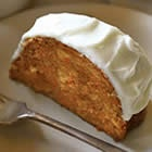 Carrot Cake Ceam Cheese Icing