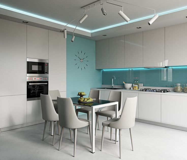3 modern apartments with chic rooms for the kids dining room
