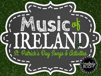 """For St. Patrick's Day, this product has five slides and ten Irish instruments total that you can discuss in class. Each slide has a youtube site with great listening of the instruments. Even learn how to Irish Step Dance!!! Also, a lesson on different types of tempos which ties in with the song, """"Oh, Danny Boy."""" Also, a listening of Irish Tune from County Derry by Percy Grainger."""