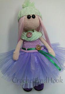 Crochet And Hook: Lavanda baba, avagy a kiegészítők fontossága!