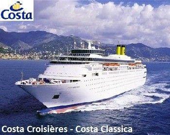 Costa Classica - Tous les détails du navire sur sa fiche complète : http://www.leguidedescroisieres.com/Costa-Classica__40.html