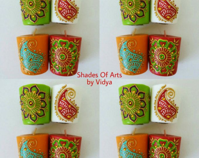 Henna Party Gifts : Best henna candle art images candles