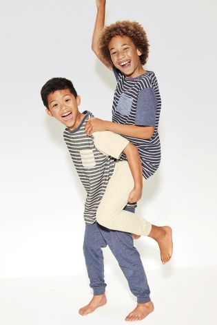 Buy Two Pack Stripe Blues (3-16yrs) from the Next UK online shop