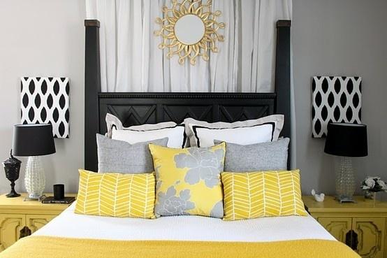 New bedroom color scheme