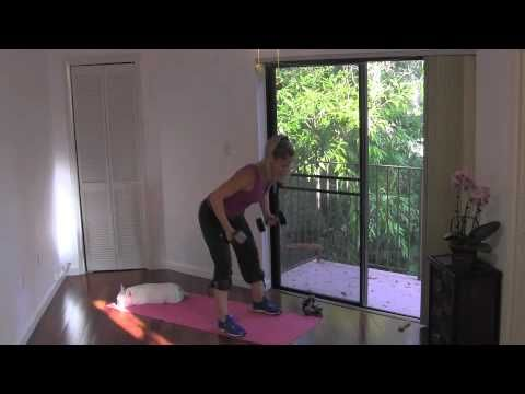 2-in-1 Toning - Full 30-Minute Fat Burning Body Sculpting Home Workout - YouTube