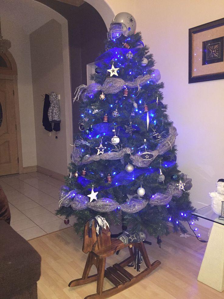 Dallas Cowboys Themed Christmas Tree Christmas Tree