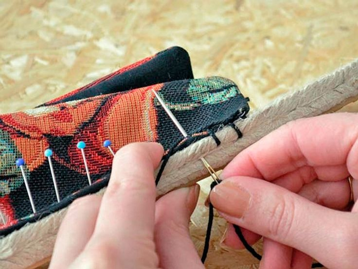 DIY tutorial: Make Your Own Espadrilles via DaWanda.com