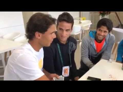 Rafael Nadal, poker star