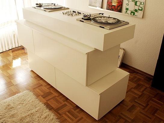 die besten 25 dj pult ikea ideen auf pinterest dj table. Black Bedroom Furniture Sets. Home Design Ideas
