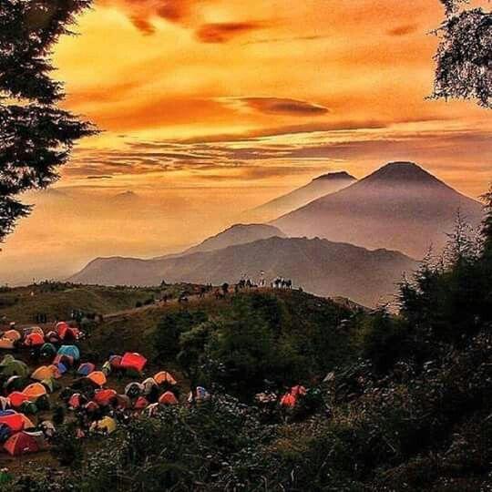 Mount Prau Dieng, Central Java