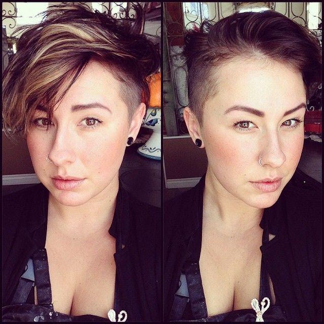 hair lesbian Bowl cut