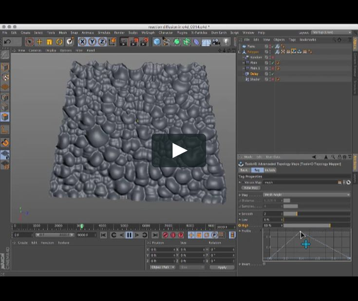 Its possible to have real-time reaction diffusion happening in Cinema using the Tools 4D Topology maps plugin. Woohoo!!! Our long wait is over! So... What…