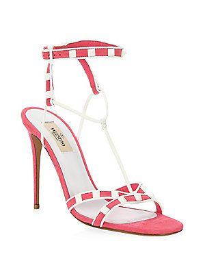 VALENTINO GARAVANI Ankle Strap Rockstud Sandal