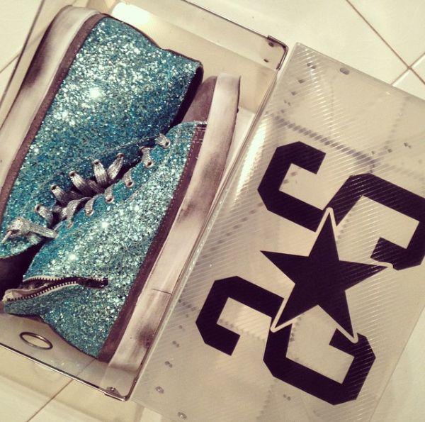 Glitter high sneakers by #2star #fashion #collection #love #sneakers #cool #woman #girl #winter #followus #tagsforlike