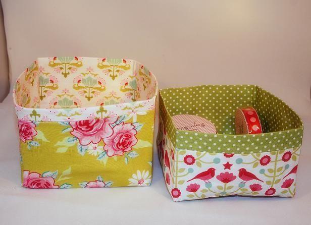 Коробки из ткани МК - Форум