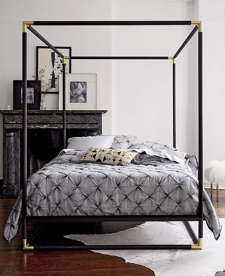 See this Instagram photo by cb2 • 894 likes Canopy bed