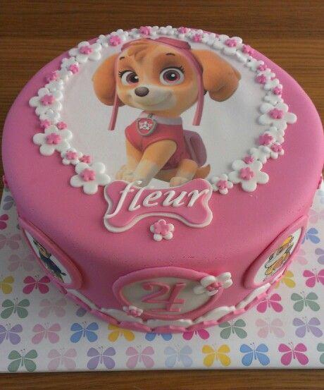 Paw patrol Skye girl cake