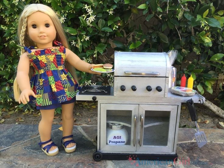 How to make an American Girl Grill