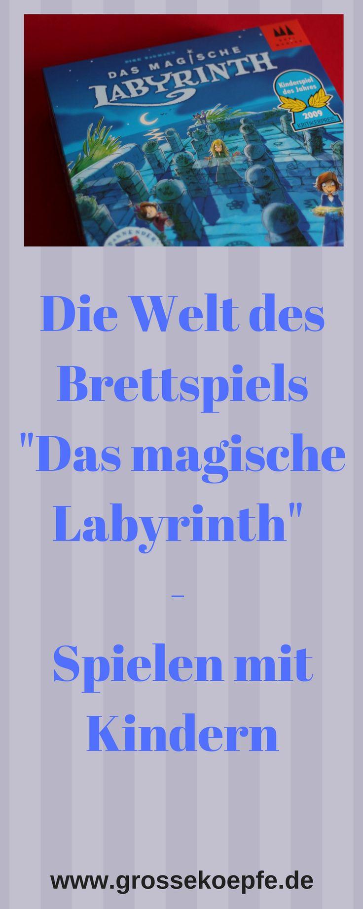 Das Brettspiel Das magische Labyrinth, Das Brettspiele das magische Labyrinth, Das Labyrinth, Die Welt des Brettspiels