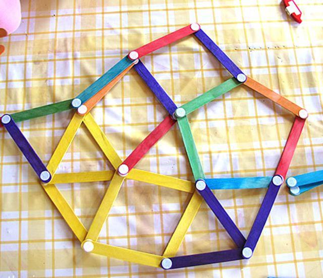 juego de construccin con palitos y velcro fciles para nios charhadas