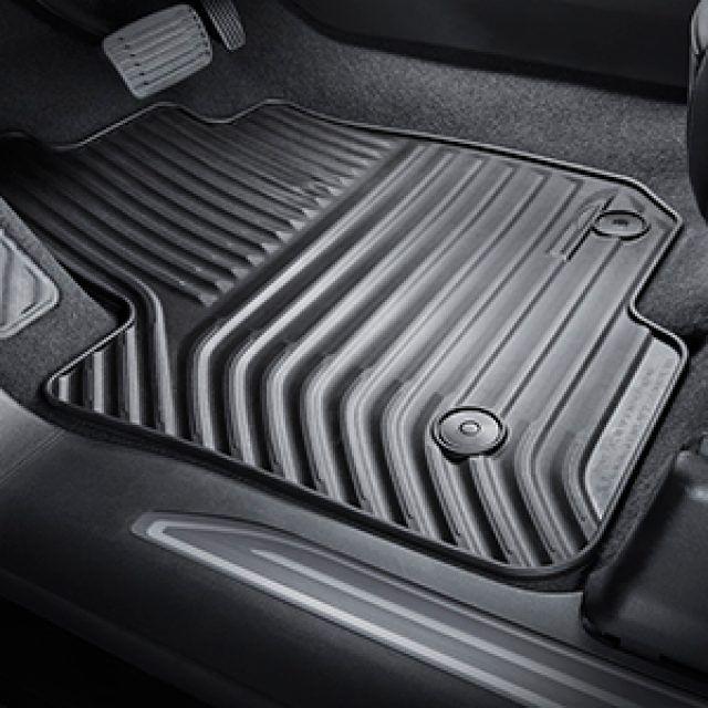 Regular Cab Front Row Premium All Weather Floor Mats In Atmosphere