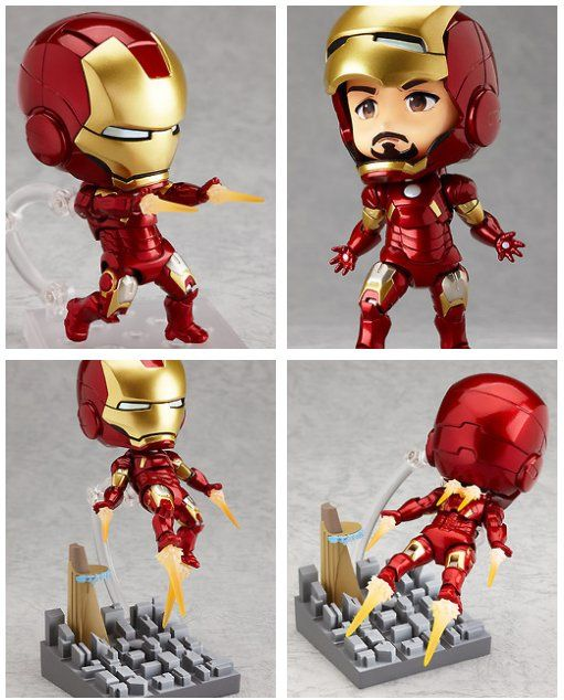 Nendoroid Iron Man Will Bowl You Over With Its Cuteness
